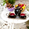 Cups and teapot  — Stock Photo