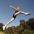 Girl jumping — Stock Photo #21634513