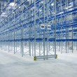 Warehouse interior (empty) - Stock Photo