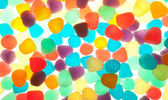 Colorful jelly texture — Stock Photo