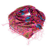 Scarf isolated on white — Stock Photo