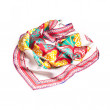 Colorful summer scarf isolated on white — Stock Photo #29350811