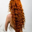 Stock Photo: Red hair girl