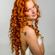 Red hair girl — Stock Photo #25241313