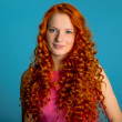 Red hair girl — Stock Photo #25242921