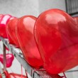 Heart balloons — Stock Photo #21304281