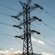 Stock Photo: Transmission tower