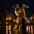 Love in the rain — Stock Photo #35365813