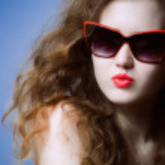 Funky summer portrait — Stock Photo