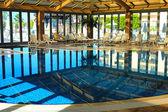 Indoor pool in the Spa hotel — Stock fotografie