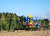 在度假胜地儿童游乐场. — 图库照片