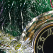 New year's eve. Before the New year five minutes. — Stock Photo