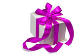 Gift for the holiday of New year, Christmas, Easter, birthday, a — Foto de Stock