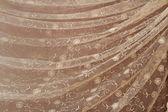 Güzel kıvrımlar şeklinde dökümlü tül — Stok fotoğraf