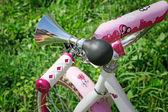 Bicycle fragment - an original sound signal. — Stock Photo