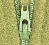 Detail of zipper — Zdjęcie stockowe