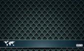 Sfondo grigio scuro piastrella e tessile, vector astratta illustrat — Vettoriale Stock