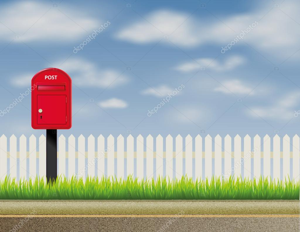 Design of abstract english uk letter box mailbox and for Unito lettere