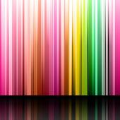 Set of straight yellow, pink, blue and violet bands and strips o — Wektor stockowy