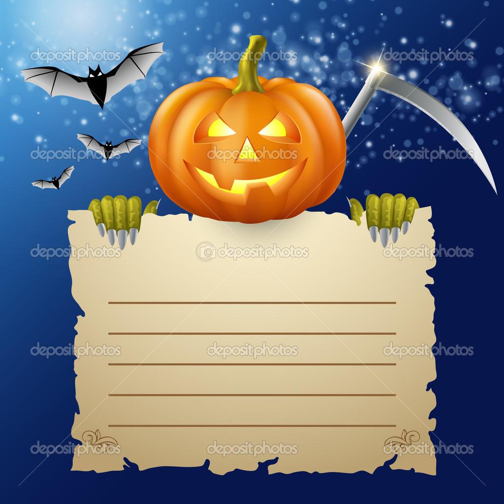 Conception d 39 halloween et de citrouille et de trois - Prix d une citrouille ...