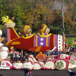 PASADENA, CALIFORNIA, USA - JANUARY 2: The Shriners Hospitals for Children float SOARING FOR KIDS is pictured during the 123rd edition of the Tournament of Roses Parade held January 2, 2012. - Stock Photo