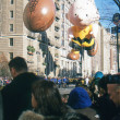 NEW YORK-NOV 22: holiday tradition since 1924, annual Macy's Thanksgiving Day Parade is seen by more th3.5 million people. Pictured here in 2012 is cartoon character Charlie Brown. — Stock Photo #34160729