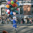 NEW YORK-NOV 22: holiday tradition since 1924, annual Macy's Thanksgiving Day Parade is seen by more th3.5 million people. Pictured here in 2012 is clown on roller skates. — Stock Photo #34160871
