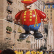 Stock Photo: NEW YORK-NOV 22: holiday tradition since 1924, annual Macy's Thanksgiving Day Parade is seen by more th3.5 million people. Pictured here in 2012 is Harold Firemballoon.