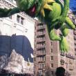 NEW YORK-NOV 22: A holiday tradition since 1924, the annual Macy's Thanksgiving Day Parade is seen by more than 3.5 million people. Pictured here in 2012 is the Kermit the Frog balloon. — Stock Photo #34161399