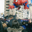 NEW YORK-NOV 22: holiday tradition since 1924, annual Macy's Thanksgiving Day Parade is seen by more th3.5 million people. Pictured here in 2012 is Spider Mballoon. — Stock Photo #34161699