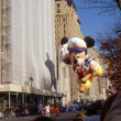 NEW YORK-NOV 24: A holiday tradition since 1924, the annual Macy's Thanksgiving Day Parade is seen by more than 3.5 million people. Pictured here in 2011 is Sailor Mickey. — Stock Photo