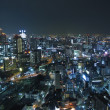 Osaka at night — Stock Photo