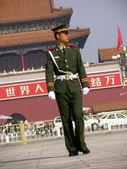 Cancello di tiananmen a pechino — Foto Stock