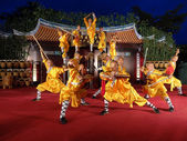 Shaolin Temple of China performs in NP360 — Stock Photo