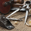 Stock Photo: Carpentry tools