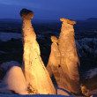Fairy Chimneys in Cappadocia - Stock Photo