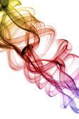 Colourised smoke background — Stock Photo