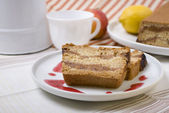 Fig cake — Stock Photo