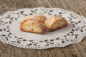 Italian cookies - cantucci — Stock Photo