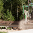 Stock Photo: Portable sawmill
