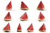 Slices Of Watermelo — Stock Photo
