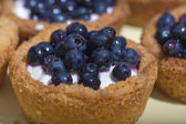 Sweet Blueberry cakes — Stock Photo