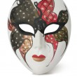 Stock Photo: Venetian Mask on white