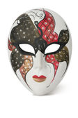 Venetian Mask on white — Stock Photo