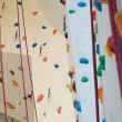 Rock climbing wall — Stock Photo #38853573
