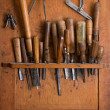Stock Photo: Woodworking tools