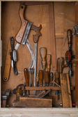 Old woodworking tools — Stock Photo