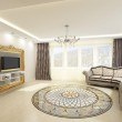 Stockfoto: Living room, 3d rendering