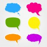 Speech bubbles — Stock Vector #21286747