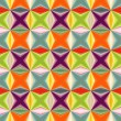 Stockvektor : Geometric abstract many-colored seamless pattern